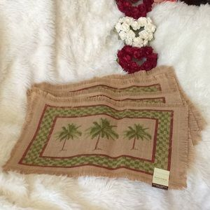 NWT. Seaside Placemats